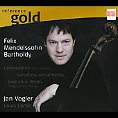 Reference Gold - Mendelssohn: Piano and Cello Sonata Op 58, etc / Jan Vogler, Louis Lortie