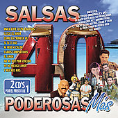 Various Artists: 40 Salsas Poderosas Mas