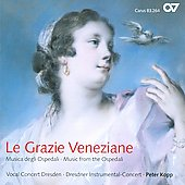 Le Grazie Veneziane: Music from the Ospedali