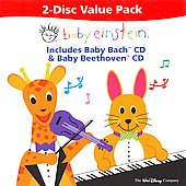 Baby Einstein Music Box Orchestra: Baby Einstein 2-Disc Value Pack: Baby Bach / Baby Beethoven