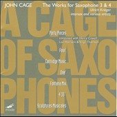 Cage: A Cage Of Saxophones 3
