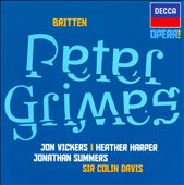 Britten: Peter Grimes / Jon Vickers, Heather Harper, Jonathan Summers, Elizabeth Bainbridge