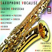 Saxophone Vocalise / Rousseau, Fennell, Winds of Indiana