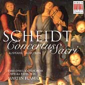 Scheidt: Concertus Sacri Selection / Fl&#228;mig, Dresdner Kreuz