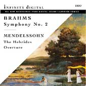 Brahms: Symphony no 2;  Mendelssohn / Kaz, Mardjani