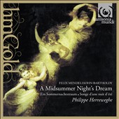Mendelssohn: A Midsummer Night's Dream; Hebrides Overture / Herreweghe