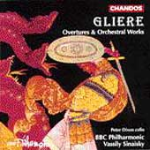 Gliere: Overtures & Orchestral Works / Sinaisky, BBC Phil