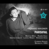 Wagner: Parsifal / Martha Modl; Ramon Vinay; George London. Clemens Krauss (Bayreuth, 1953)
