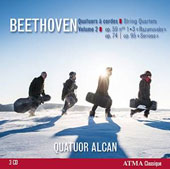 Beethoven: String Quartets, Vol. 2 - Op. 59/1-3