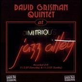 David Grisman Quintet: Live At Jazz Alley [Digipak]