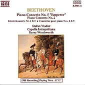 Beethoven: Piano Concertos nos 2 & 5 / Vladar, Wordsworth