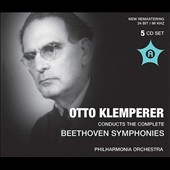 Otto Klemperer conducts the Complete Beethoven Symphonies; Creatures of Prometheus, Egmont & Coriolan overtures (Vienna, 1960) [5 CDs]