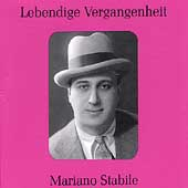 Lebendige Vergangenheit - Mariano Stabile