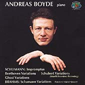 Schumann, Brahms: Piano Works / Andreas Boyde