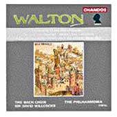 Walton: In Honour of the City of London, etc / Willcocks