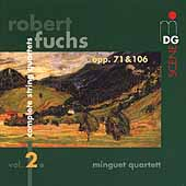 SCENE  Fuchs: Complete String Quartets Vol 2/Minguet Quartet