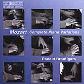 Mozart: Complete Piano Variations / Ronald Brautigam