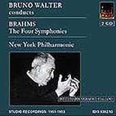 Brahms: The Four Symphonies / Bruno Walter, New York PO