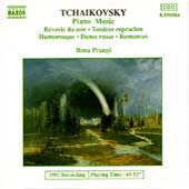 Tchaikovsky: Piano Music / Ilona Prunyi