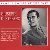 Famous Voices of the Past - Giuseppe Di Stefano