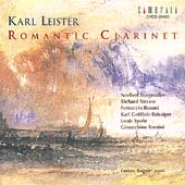 The Romantic Clarinet - R. Strauss, etc / Karl Leister