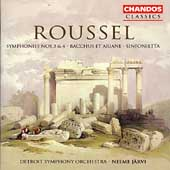 Roussel: Symphony nos 3 & 4, etc / J&auml;rvi, et al