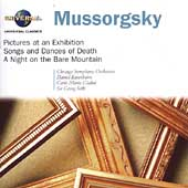 Mussorgsky: Pictures at an Exhibition, etc / Solti, et al