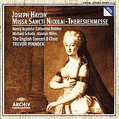 Haydn: Missa Sancti Nicolai, Theresienmesse / Pinnock