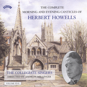Howells: Complete Morning & Evening Canticles, Vol 5