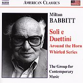 American Classics - Babbitt: Soli e Duettini