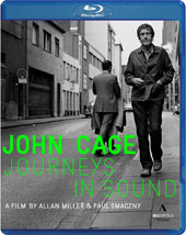 Journeys in Sound - A documentary tribute to avant-garde composer John Cage by Allan Miller and Paul Smaczny featuring rare archival footage [Blu-Ray]