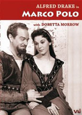Marco Polo (after Rimsky-Korsakov) / Alfred Drake, Doretta Morrow [1956 TV, B&W] [DVD]