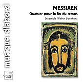 Messiaen: Quatuor pour la fin du temps / Boeykens