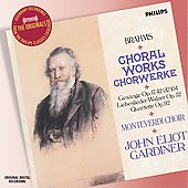 Brahms: Choral Works / Gardiner, Monteverdi Choir