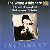 The Young Ashkenazy Vol 2 - Chopin, Liszt, et al