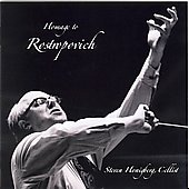 Homage to Rostropovich - Walton, et al / Steven Honigberg