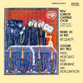 Des Préz, La Rue: Masses / New London Chamber Chorus
