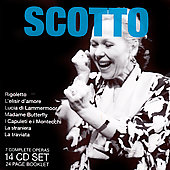 Verdi, Donizetti, Puccini, Bellini, Verdi: Operas / Scotto