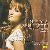 Tavener: Lalishri, etc;  Vaughan Williams/ Litton, Benedetti