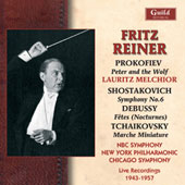 Shostakovich, Prokofiev, Tchaikovsky, Debussy, etc / Reiner, Chicago SO, et al