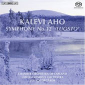 Kalevi Aho: Symphony no 12 / Storg&aring;rds, Piira, Alamikkotervo, Lehtonen, Lahti SO, etc