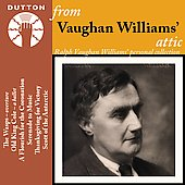 From Vaughan Williams attic / Boult, Irving, Wood, London PO, et al