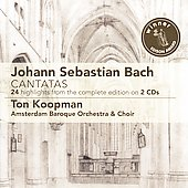 Bach: Cantatas - 24 Highlights / Koopmann, Amsterdam Baroque Soloists
