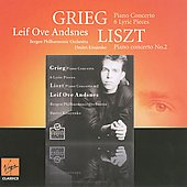 Grieg: Piano Concerto, Lyric Pieces;  Liszt: Piano Concerto no 2 / Leif Ove Andsnes