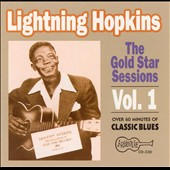 Lightnin' Hopkins: Gold Star Sessions, Vol. 1