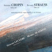 Chopin, Strauss: Sonates pour violoncelle et piano