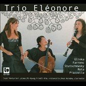 Trio Eléonore plays Glinka, Farrenc, Shostakovich, Etc.