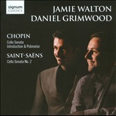 Chopin: Cello Sonata; Introduction & Polonaise; Saint-Saens: Cello Sonata No. 2