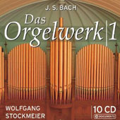 JS Bach: Organ Works Vol. 1 / Wolfgang Stockmeier, organ [10 CDs]
