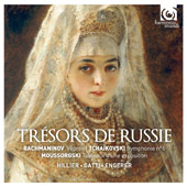 Tresors de Russie / Mussorgsky, Tchaikovsky, Racmnaninov